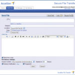 thumb for Accellion Secure File Transfer v8