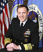 U.S. Cyber Command Adm. Michael S. Rogers