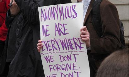 Anonymous rally, New York