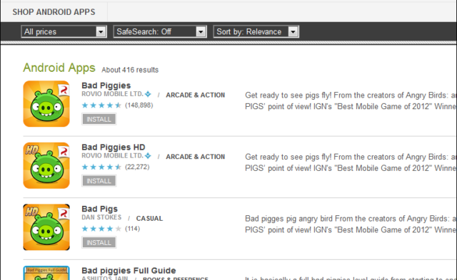 """""""Bad Pigs"""" removed from Google Play after 10k users download spurious app"""