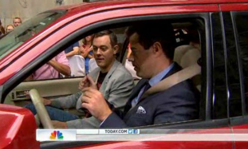 IOActive researcher Chris Valasek describes car hacking to 'Today' host Carson Daly.