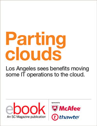 Cloud: Parting clouds