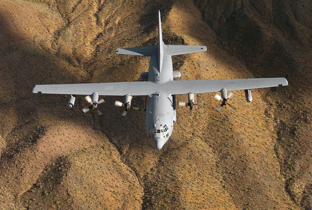 US Air Force EC-130