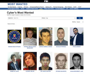 FBI Cyber Most Wanted