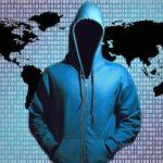 hacker in a hoodie