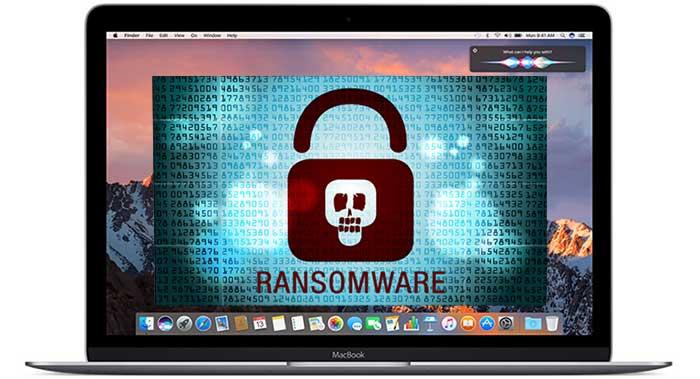 MacOS ransomware laptop