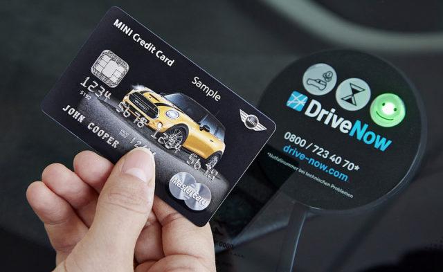 MasterCard chip card