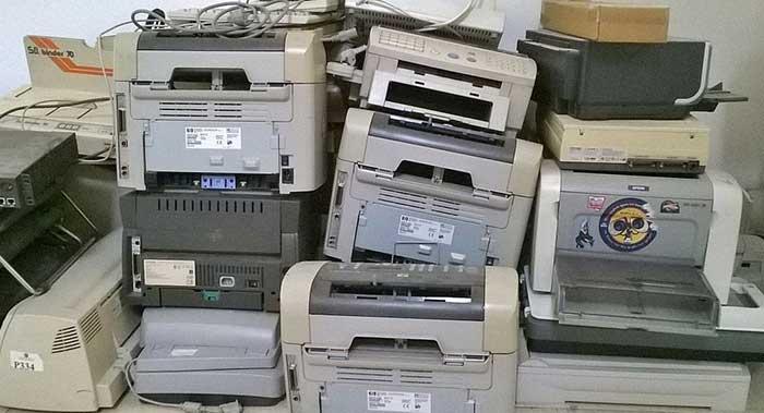 Old printers