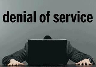 Denial of Service attacks, ransomware