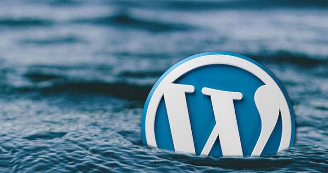 Wordpress logo sinking