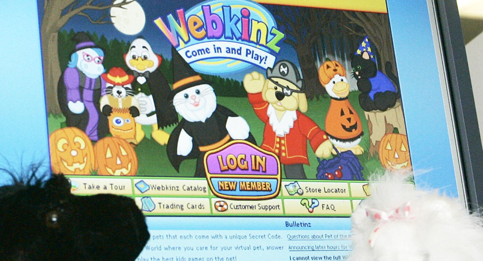 webkinz com login