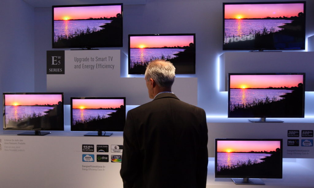 Smart TVs are one of several personal and home devices that can potentially endanger a corporate network. (